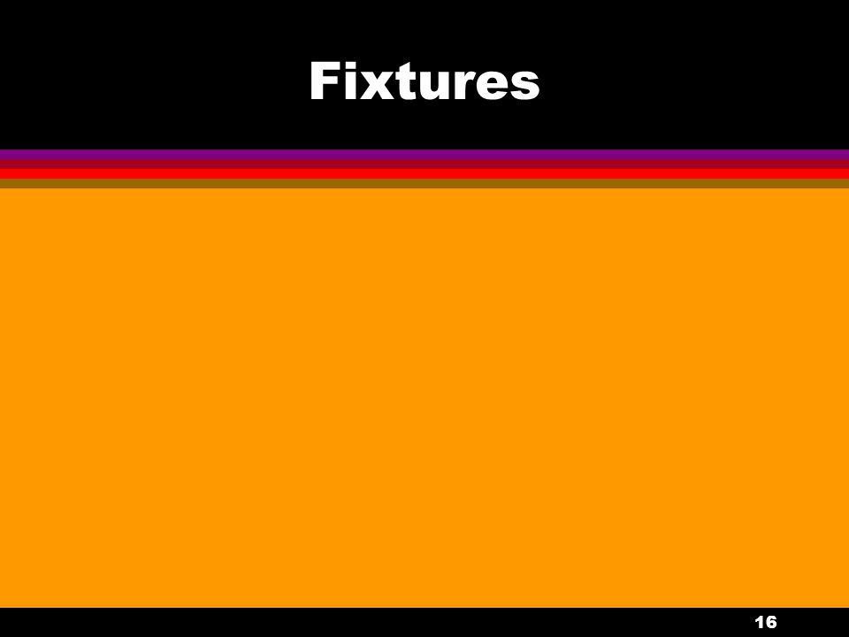 16 Fixtures
