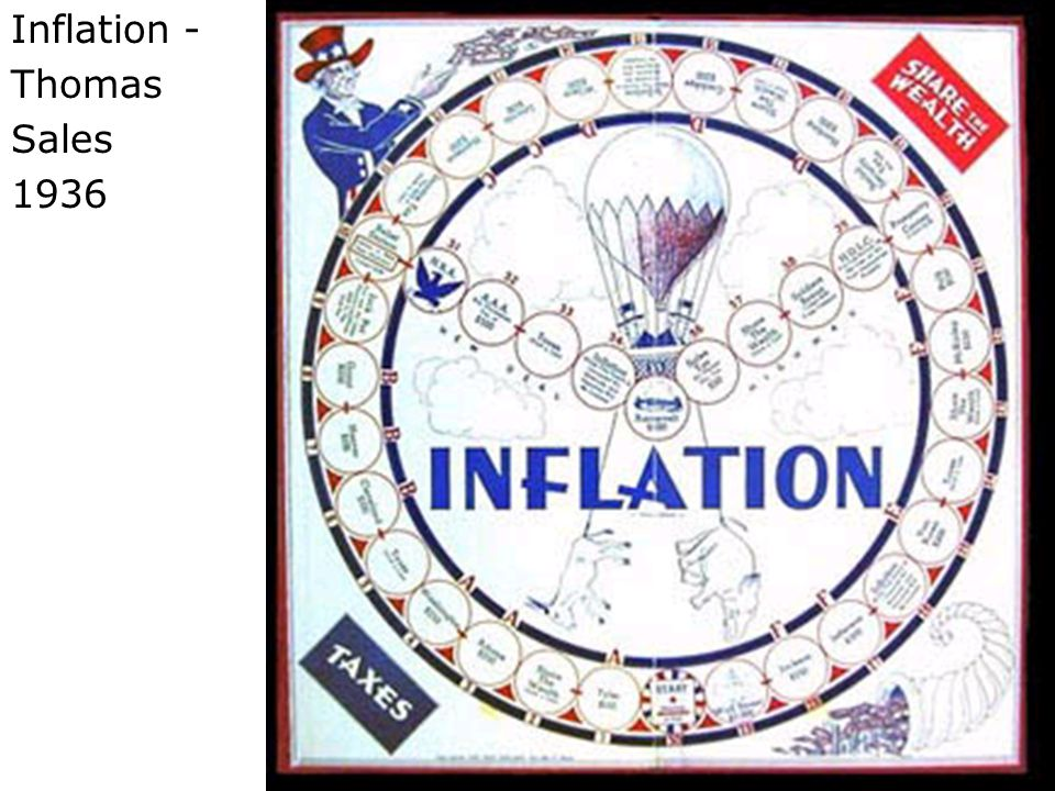 Inflation - Thomas Sales 1936