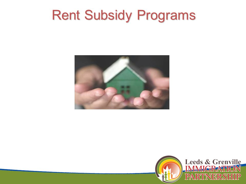 Rent Subsidy Programs