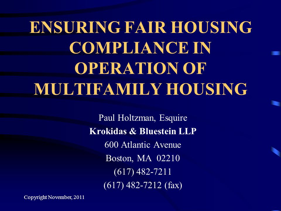 Does the Fair Housing Act provide a definition of who is disabled.