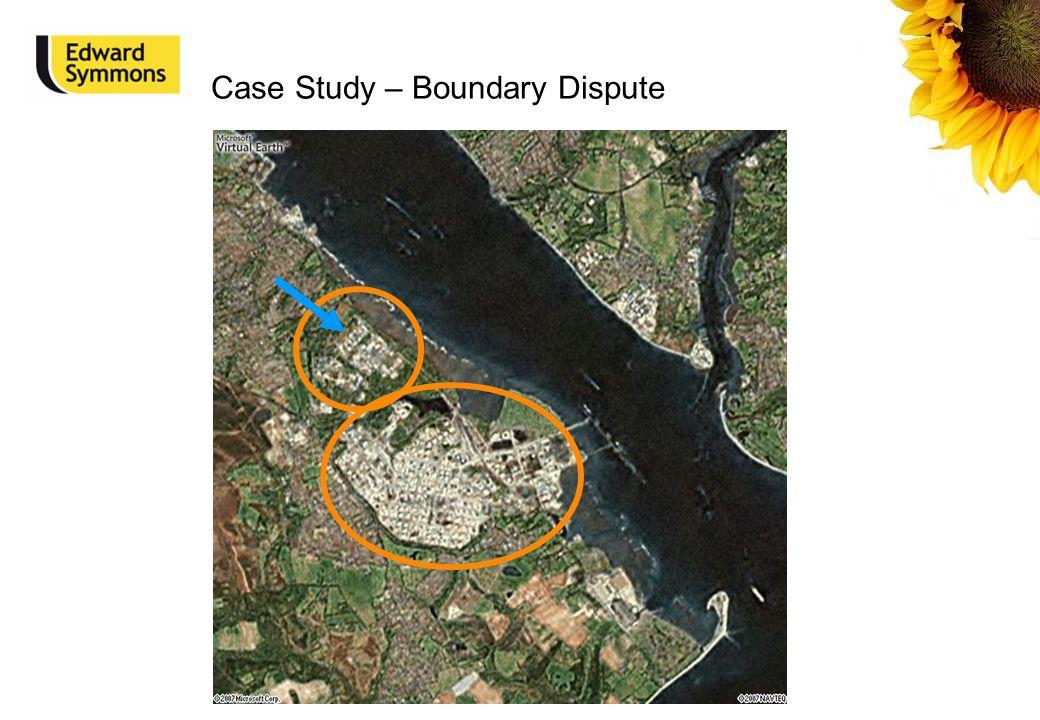 Case Study – Boundary Dispute