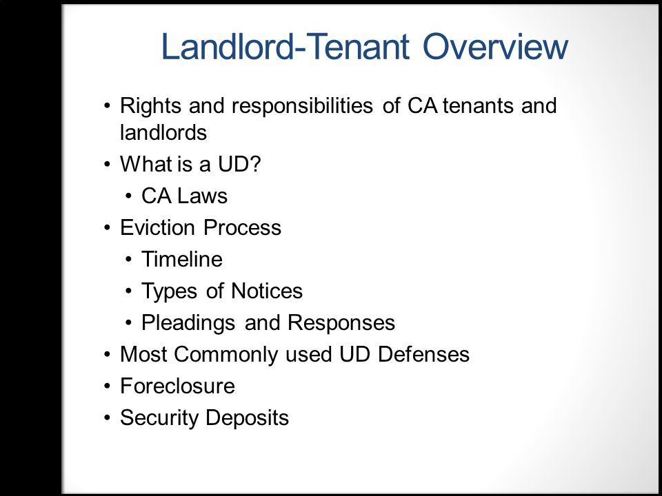 Protecting Tenants at Foreclosure Act Applies to all residential properties foreclosed after 5/20/2009 Does not preempt local and state laws that offer additional protections 90-Day Notice required unless lease term not yet expired Must be bona fide tenant.
