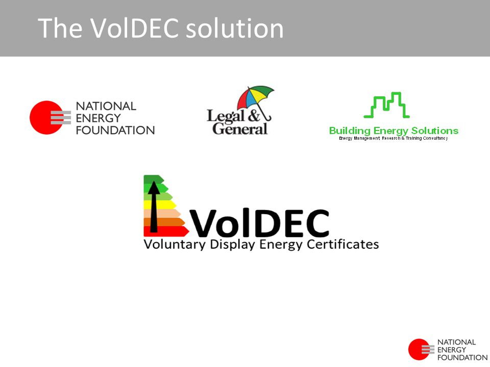 The VolDEC solution