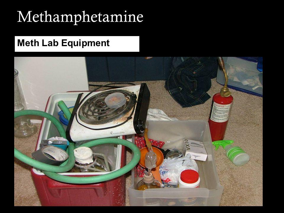 Methamphetamine Meth Lab Equipment