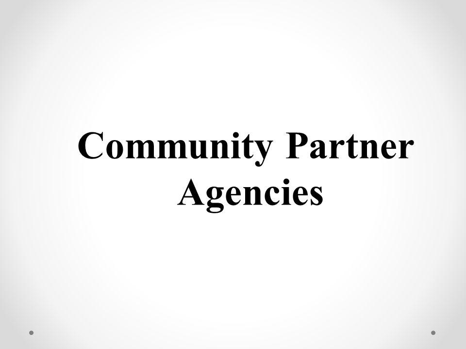Community Partner Agencies