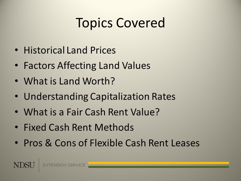 Topics Covered Historical Land Prices Factors Affecting Land Values What is Land Worth.