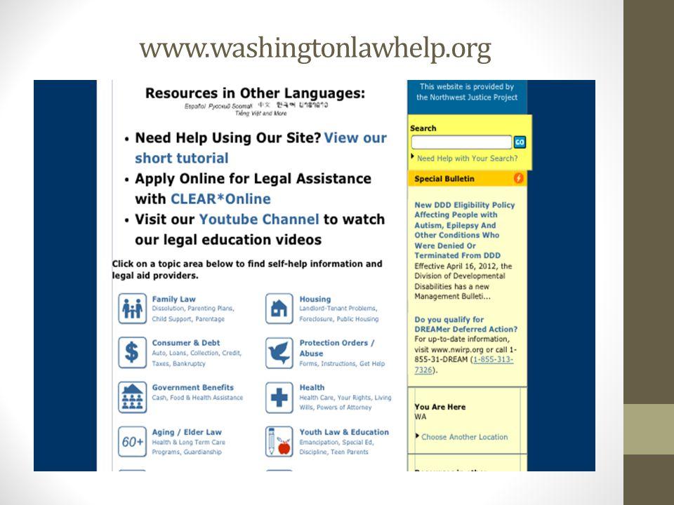 www.washingtonlawhelp.org