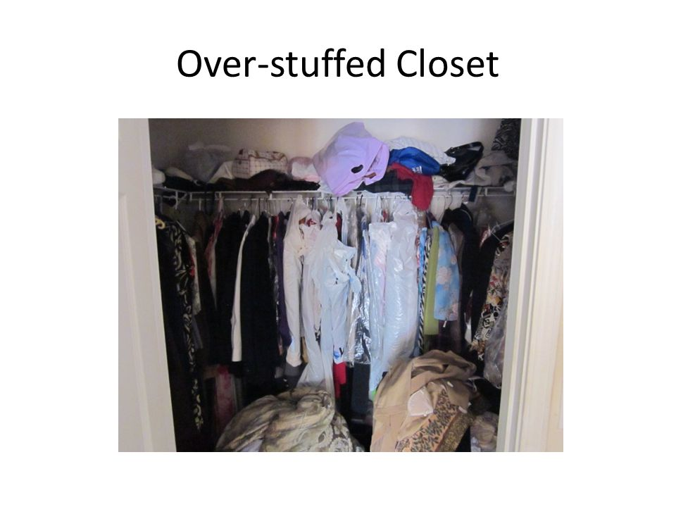 Over-stuffed Closet