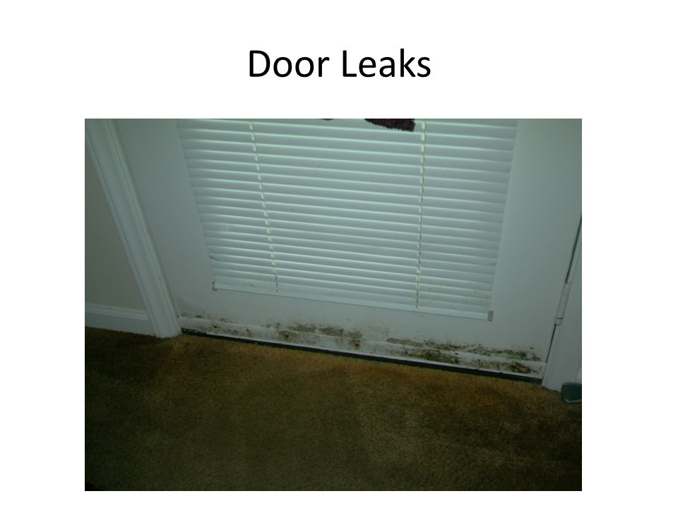 Door Leaks