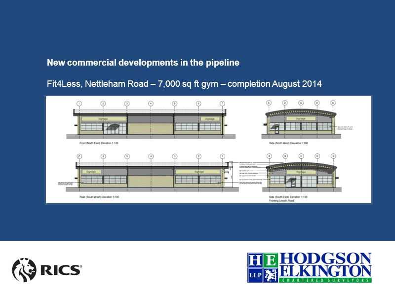 New commercial developments in the pipeline Sadler Road, Lincoln – 6,000 sq ft new build – completion Spring 2015