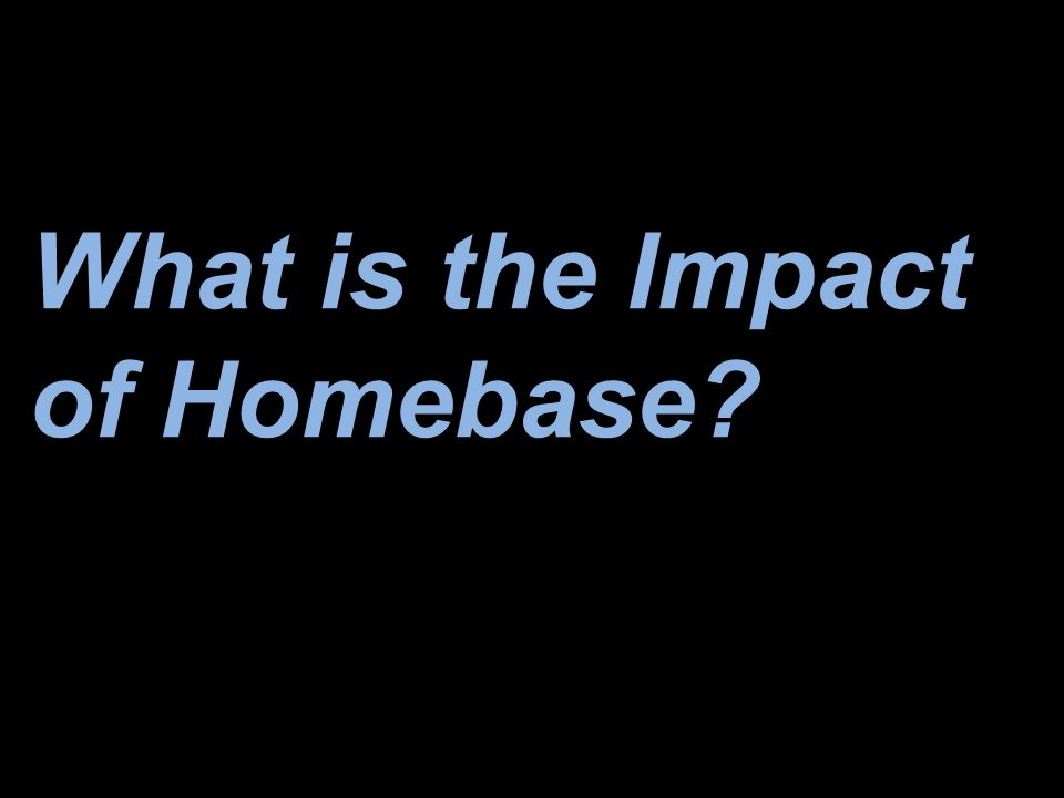 What is the Impact of Homebase