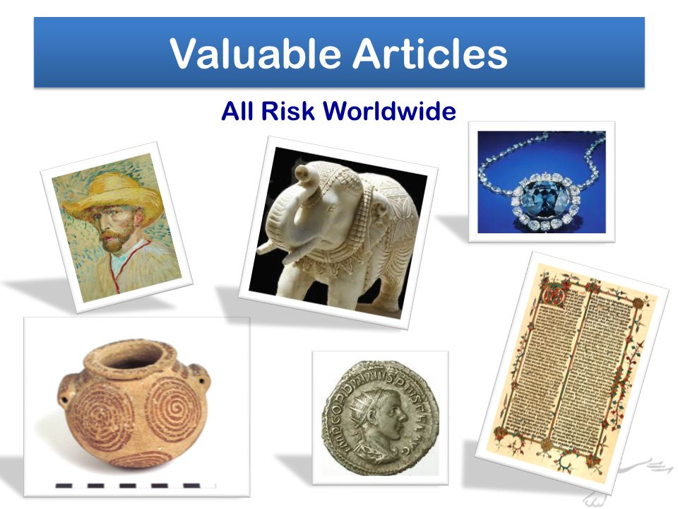 All Risk Worldwide Valuable Articles
