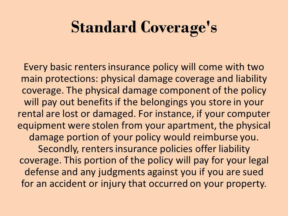 Myths about Rental Insurance