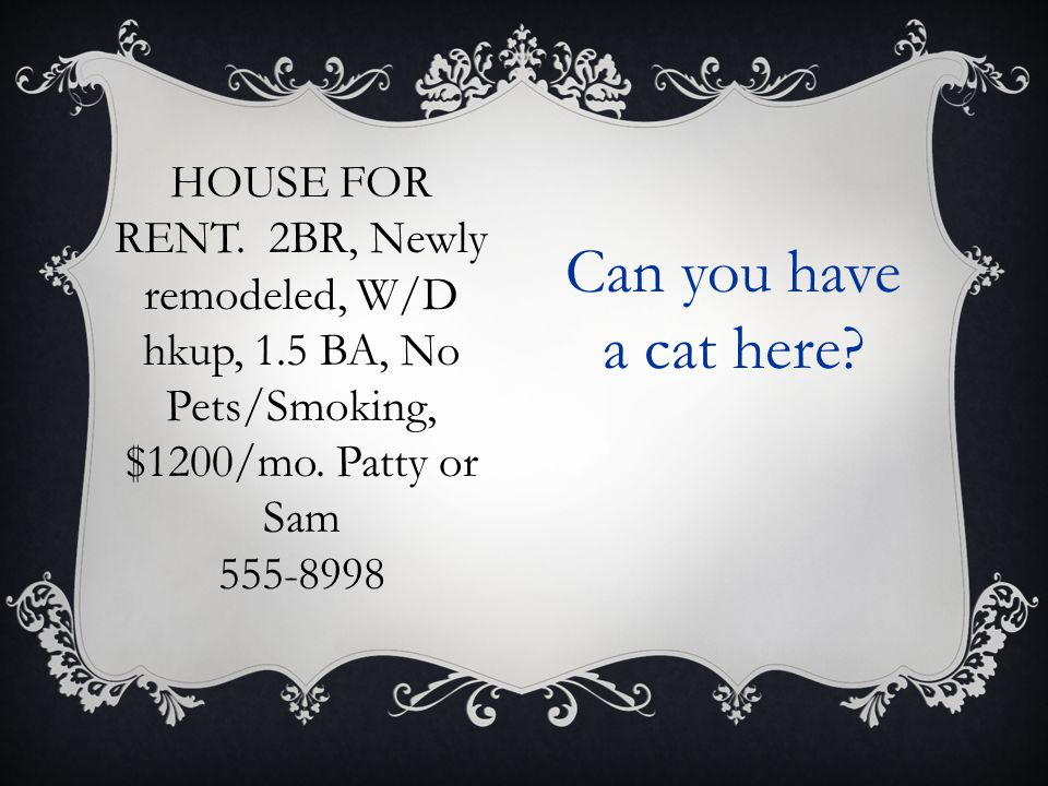 HOUSE FOR RENT. 2BR, Newly remodeled, W/D hkup, 1.5 BA, No Pets/Smoking, $1200/mo.