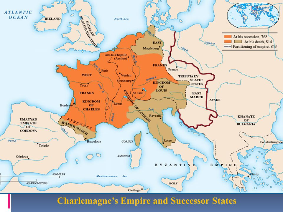 Charlemagne's Empire and Successor States