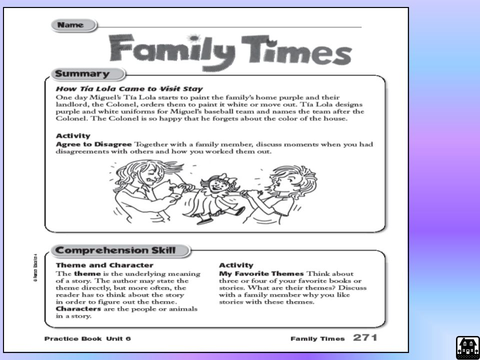 Study Skills Genre: Realistic Fiction Comprehension Skill: Character and Theme Comprehension Strategy: Summarize Comprehension Review Skill: Author's Purpose Vocabulary: Context Clues