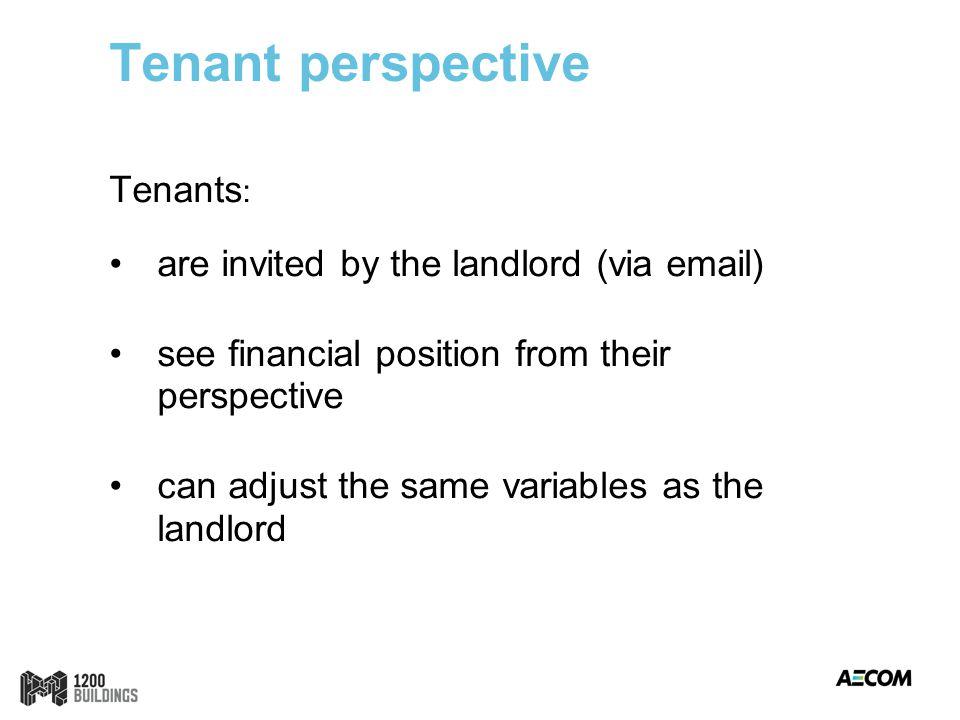Tenant Report