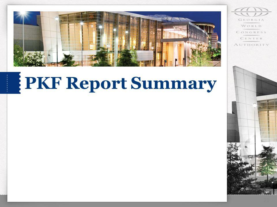 20 PKF Report Summary