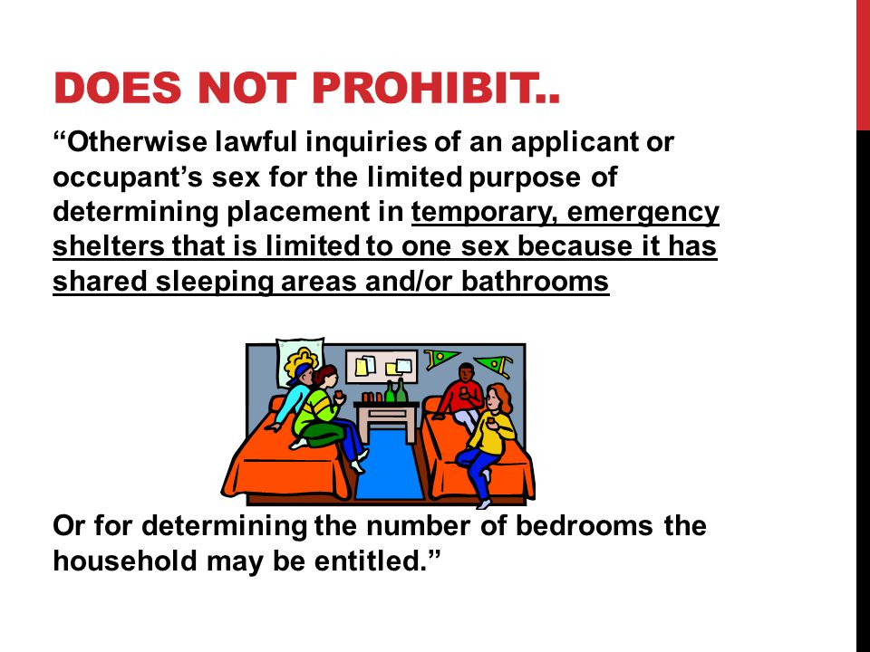 DOES NOT PROHIBIT..