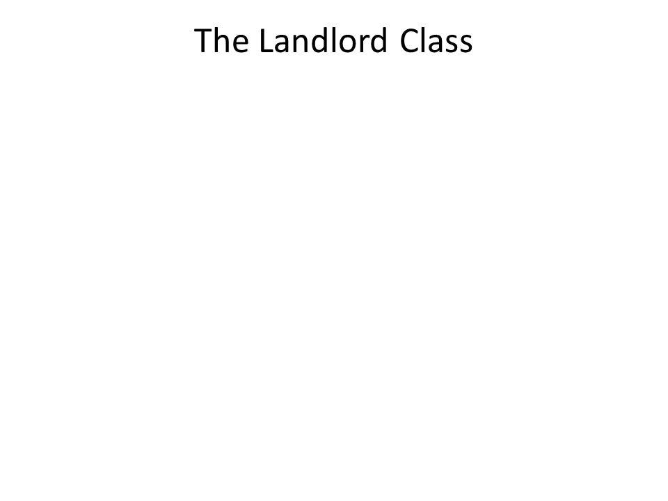 The Landlord Class