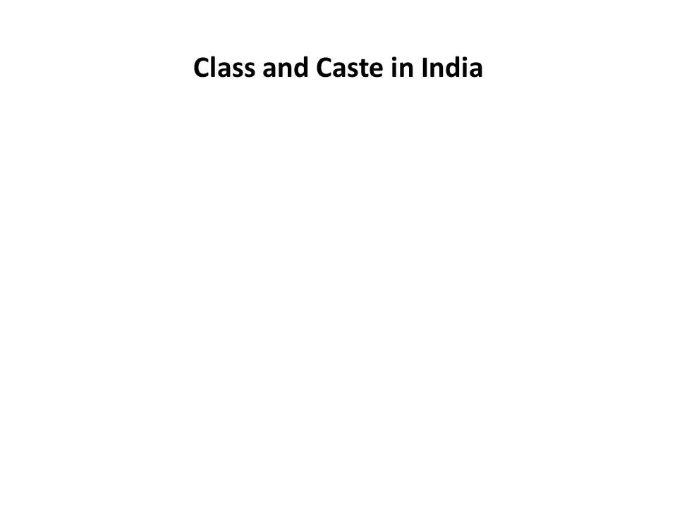 Caste as Varna