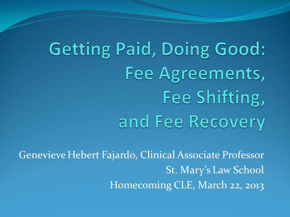 Genevieve Hebert Fajardo, Clinical Associate Professor St.