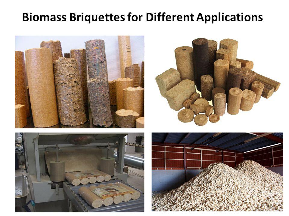 Biomass Briquettes for Different Applications 52