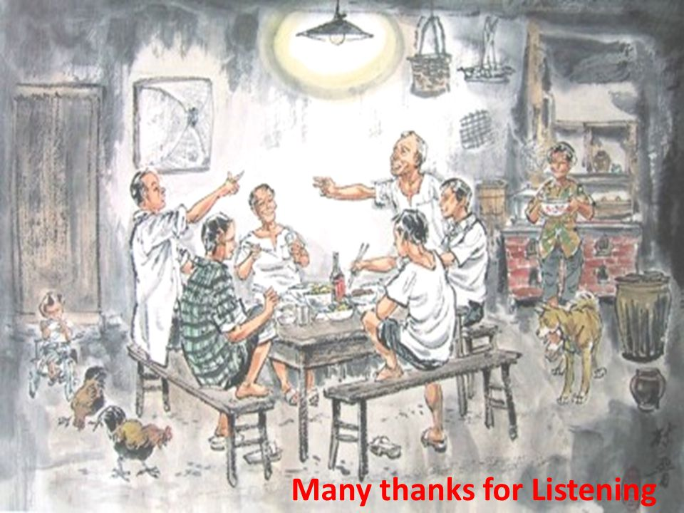 Many thanks for Listening