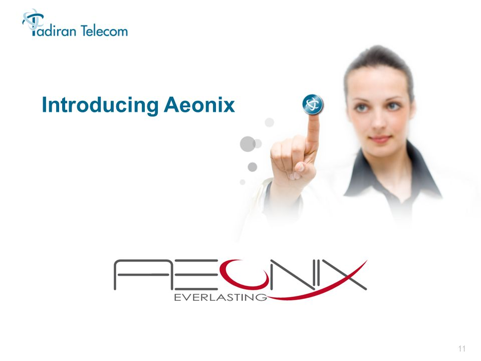 11 In Focus 2011 Introducing Aeonix