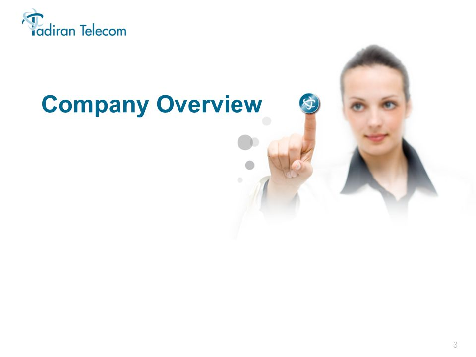 3 In Focus 2011 Company Overview