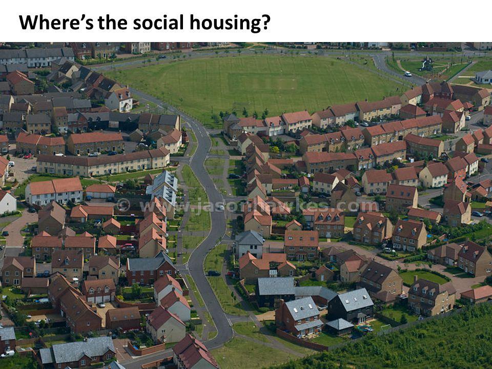 Where's the social housing?