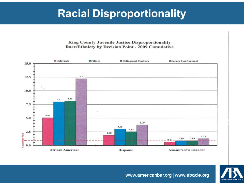 www.americanbar.org | www.abacle.org Racial Disproportionality