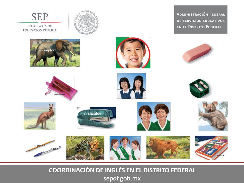 COORDINACIÓN DE INGLÉS EN EL DISTRITO FEDERAL sepdf.gob.mx