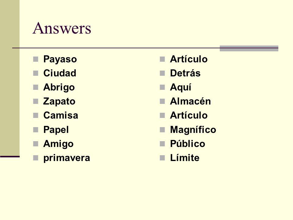 Answers Payaso Ciudad Abrigo Zapato Camisa Papel Amigo primavera Artículo Detrás Aquí Almacén Artículo Magnífico Público Límite