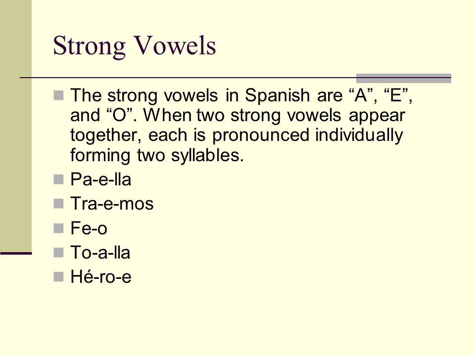 Another purpose for Accents Accents are also used to distinguish words si, sí el, él mas, más mi, mí se, sé