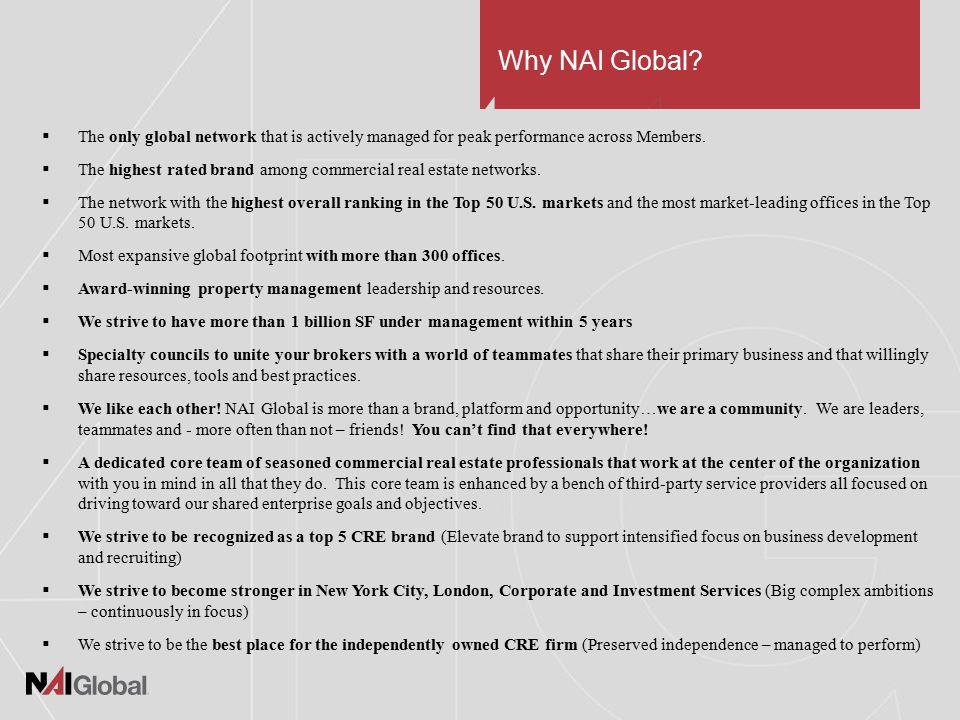 Why NAI Global.
