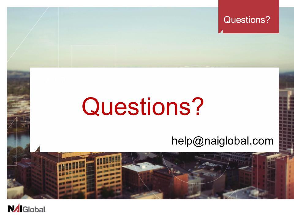 Questions help@naiglobal.com Questions