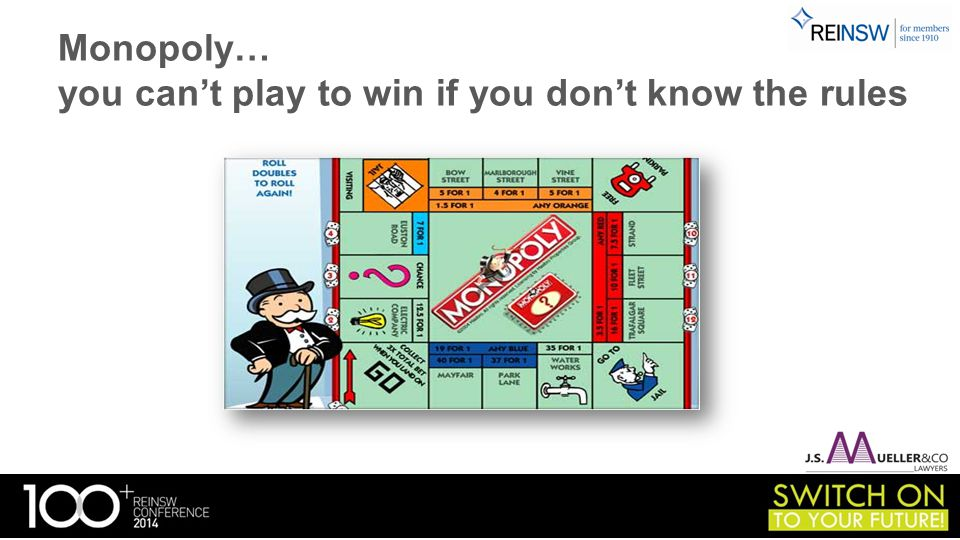 Strata Management… you can't play to win if you don't know the rules