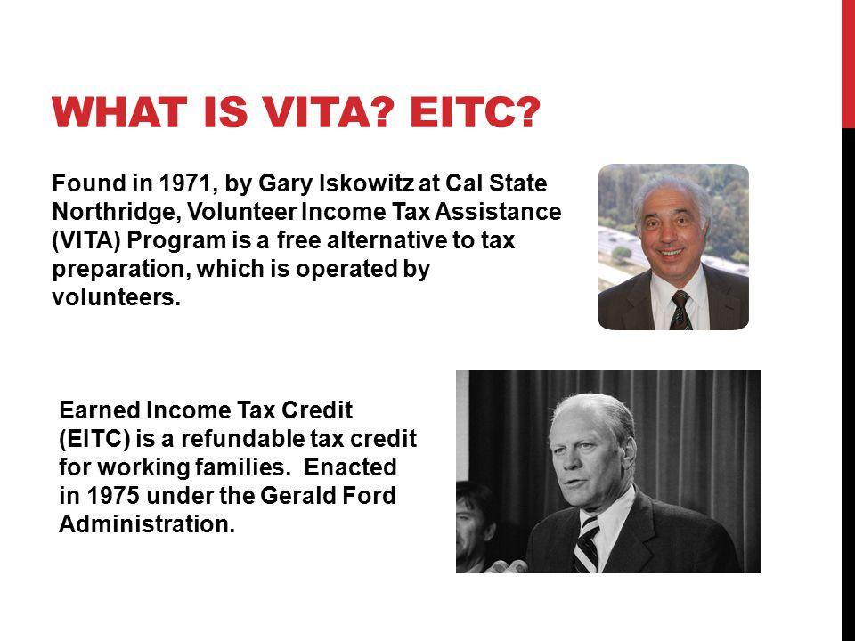 WHAT IS VITA. EITC.