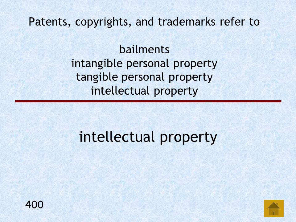 In a bailment, there is no intent to provide any standard of care by the bailee or bailor. obligation to return the property to the bailor. intent to