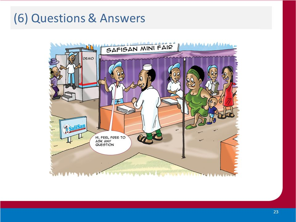(6) Questions & Answers 23