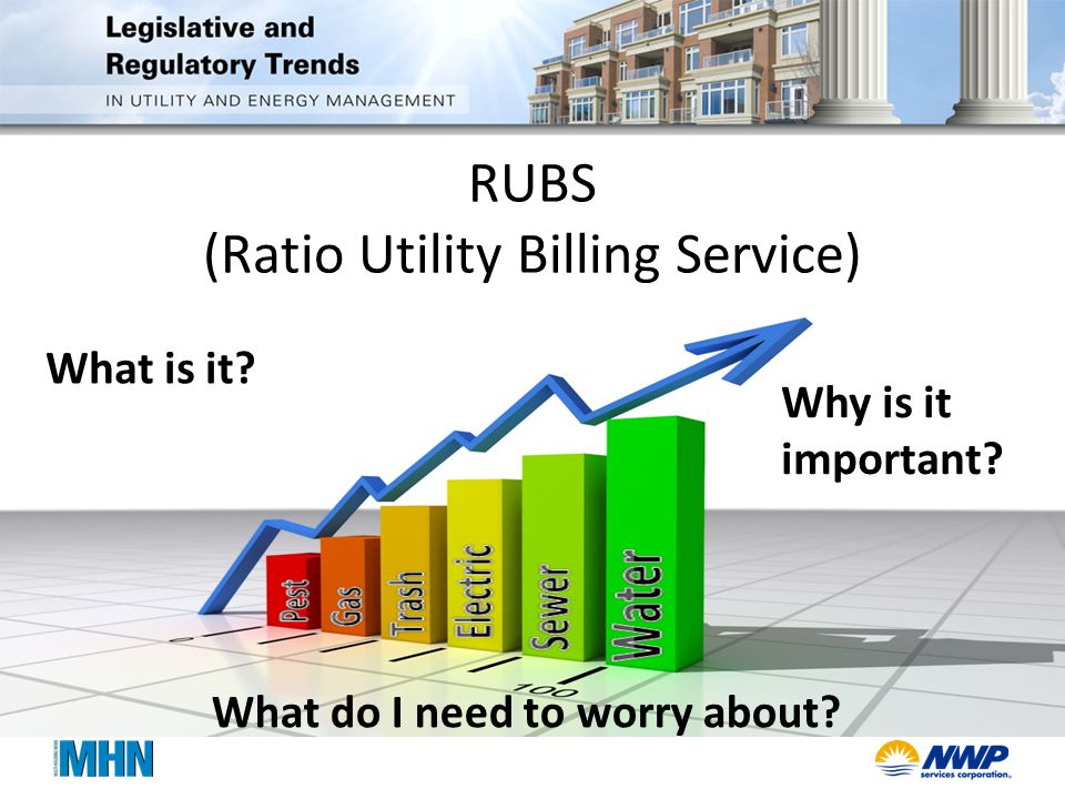 RUBS (Ratio Utility Billing Service) What do I need to worry about.