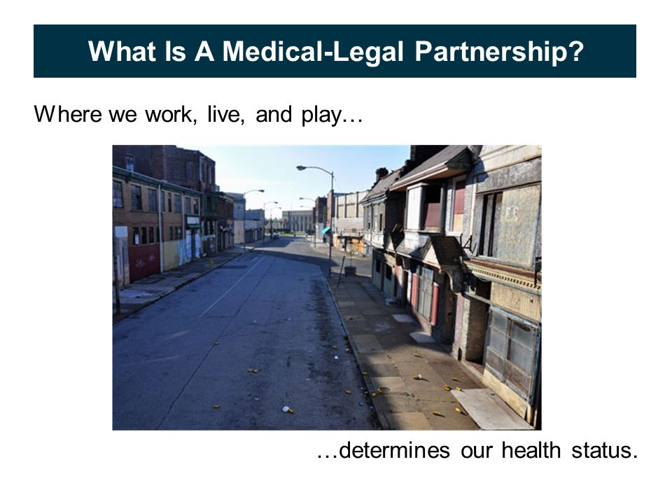 © 2009 APS Healthcare, Inc. 5 What Is A Medical-Legal Partnership.