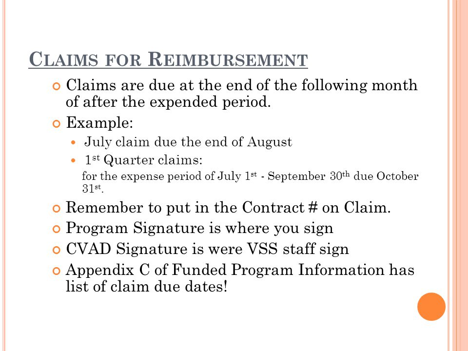 Iowa Department of Justice Crime Victim Assistance Division (CVAD) Claim Voucher Fund:VA-14 Transition Funds Month:July Program Address City E-mail Phone/Ext Vendor # Contract # VA-14- Match ExpenseBudgetClaimYTDBalance ClaimYTD Payroll - - - - - Benefits - - - - - Travel & Training - - - - - Contracted Services - - - - - Equipment - - - - - Repairs & Maintenance - - - - - Rent - - - - - Utilities - - - - - Communications - - - - -