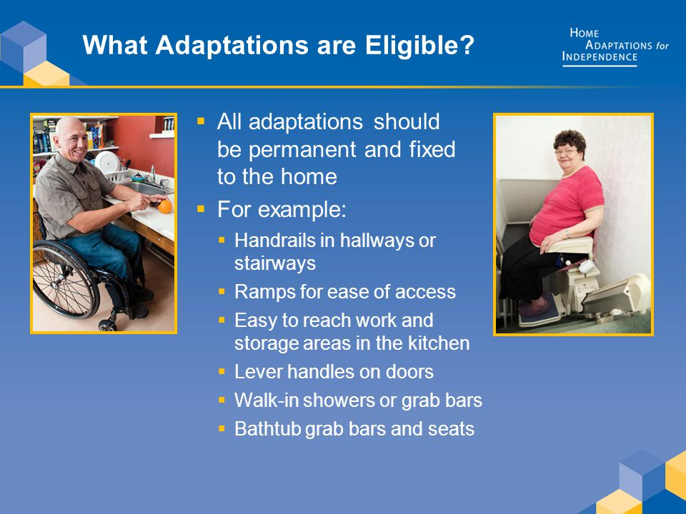 What Adaptations are Eligible.