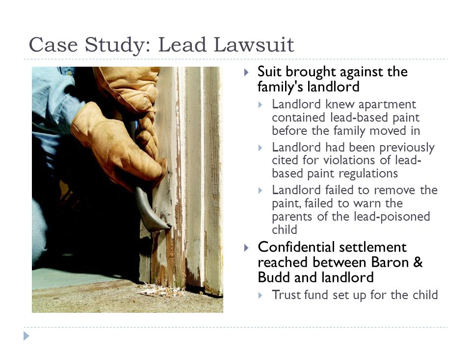 Case Study: Lead Lawsuit Baron and Budd, P.C.