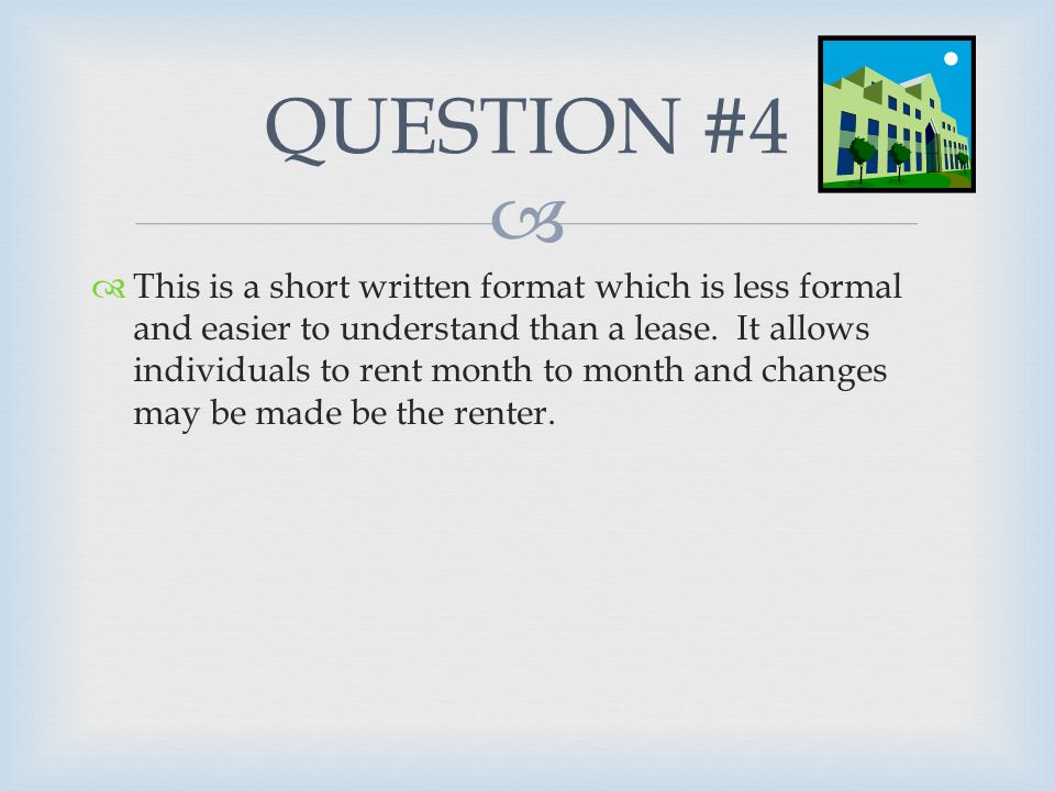   This is a document used by landlords and property managers to determine if a person's credit history, financial stability, references, and other factors make them a worthy candidate for the rental unit.