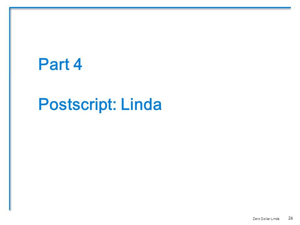 24 Part 4 Postscript: Linda