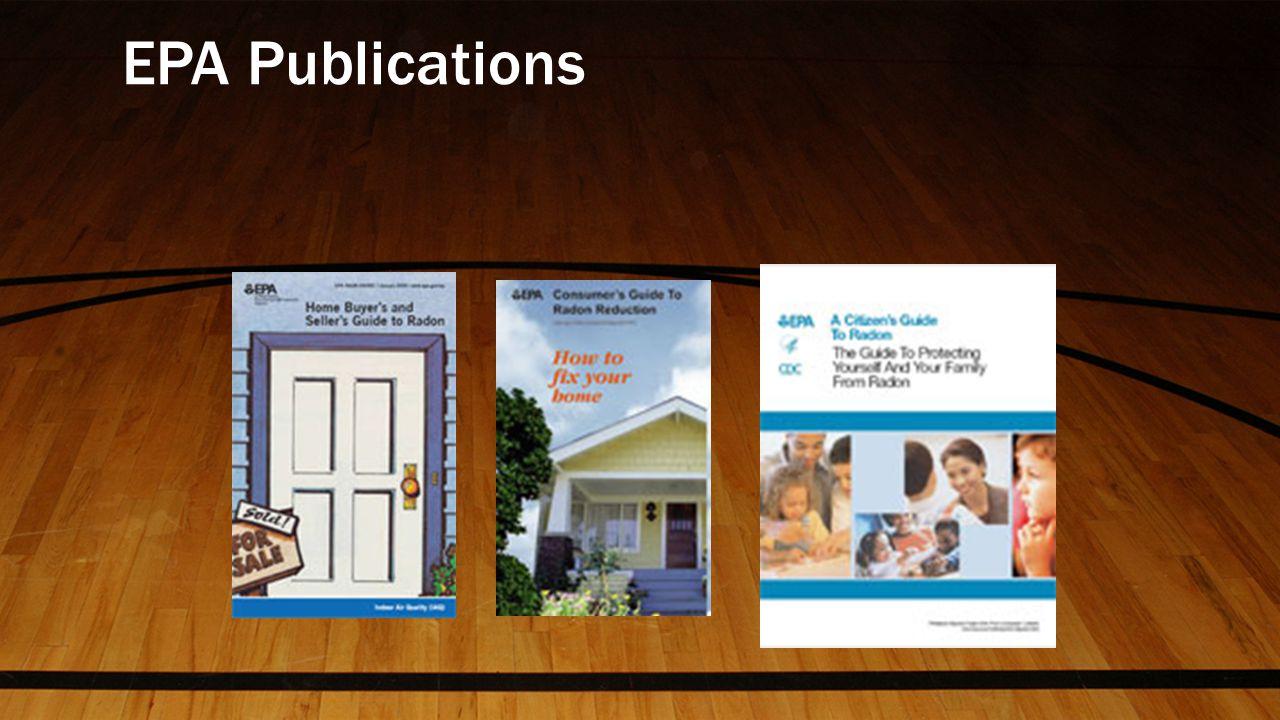 EPA Publications