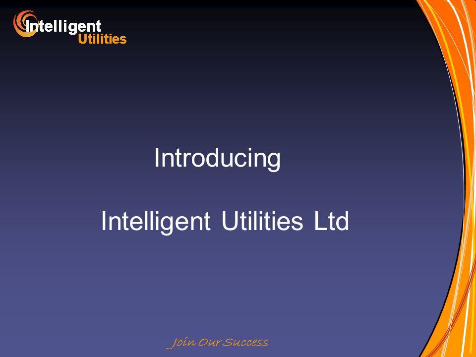 Intelligent Utilities Intelligent Utilities Intelligent Utilities Intelligent Utilities Intelligent Utilities Intelligent Utilities Intelligent Utilities Intelligent Utilities Intelligent Join Our Success Introducing Intelligent Utilities Ltd